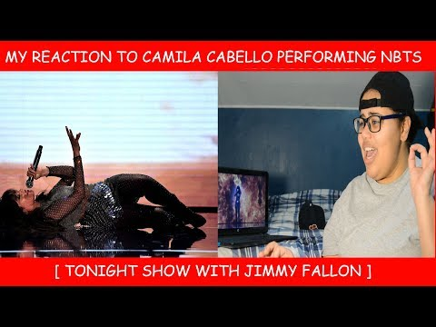 My Reaction To Camila Cabello Performing Never Be The Same  On Jimmy Fallon