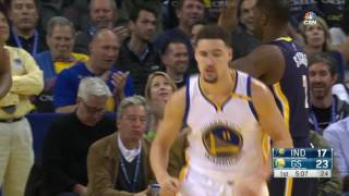 Repeat youtube video Klay Thompson 40 Point 1st Half | Every Basket | 12.05.16