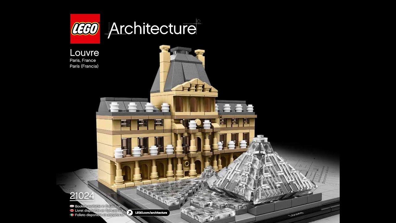 Lego Architecture 21024 Louvre Building Kit Sonstige