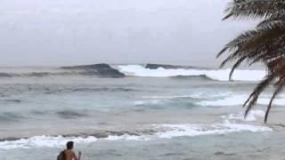 3年前のサンセット良い波でした.