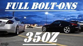 Nissan 350Z Full Bolt-Ons 330HP