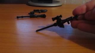 как сделать самодельное оружие для лего