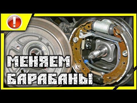 ПОКОЛХОЗИМ: замена тормозных барабанов и регулировка задних подшипников ступицы Passat B3