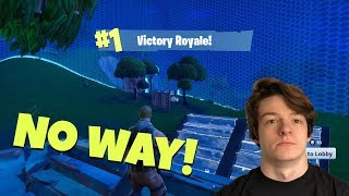 KID GETS FIRST FORTNITE WIN???