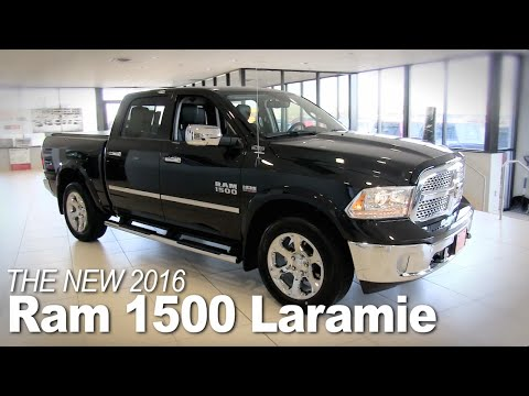 New 2016 Ram 1500 Laramie, Lakeville, Bloomington, Burnsville, Minneapolis, St Paul, MN - Specs