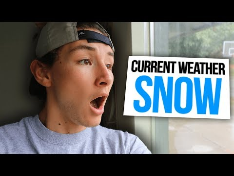 IT'S SNOWING IN SEPTEMBER! (NOT CLICKBAIT) thumbnail