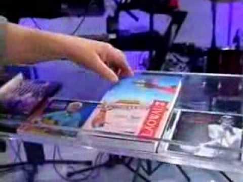 Vitrine do Faustão DVD Kenny Rogers The Journey