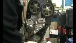 видео Установка ремня ГРМ на Land Rover Freelander