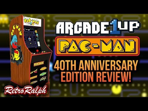 Arcade1Up - Pac-Man 40th Anniversary - Review!