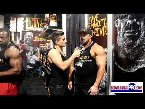 Ron Partlow Interview - 2012 Mr. Olympia Expo
