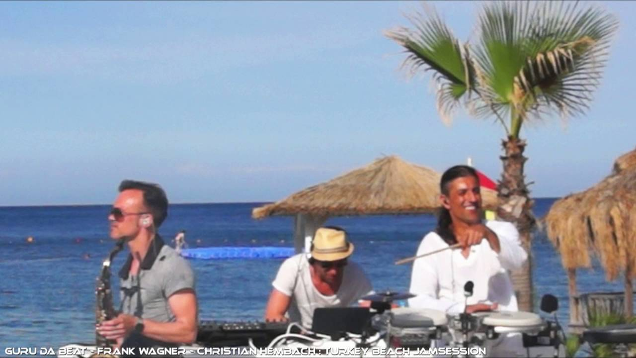 Live Deep House dj set incl live Percussion & live saxophone- Guru Da Beat, Frank Wagner, Chris
