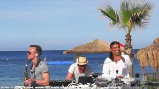 Live Deep House dj set incl live Percussion & live saxophone- Guru Da Beat, Frank Wagner, Chris Sax
