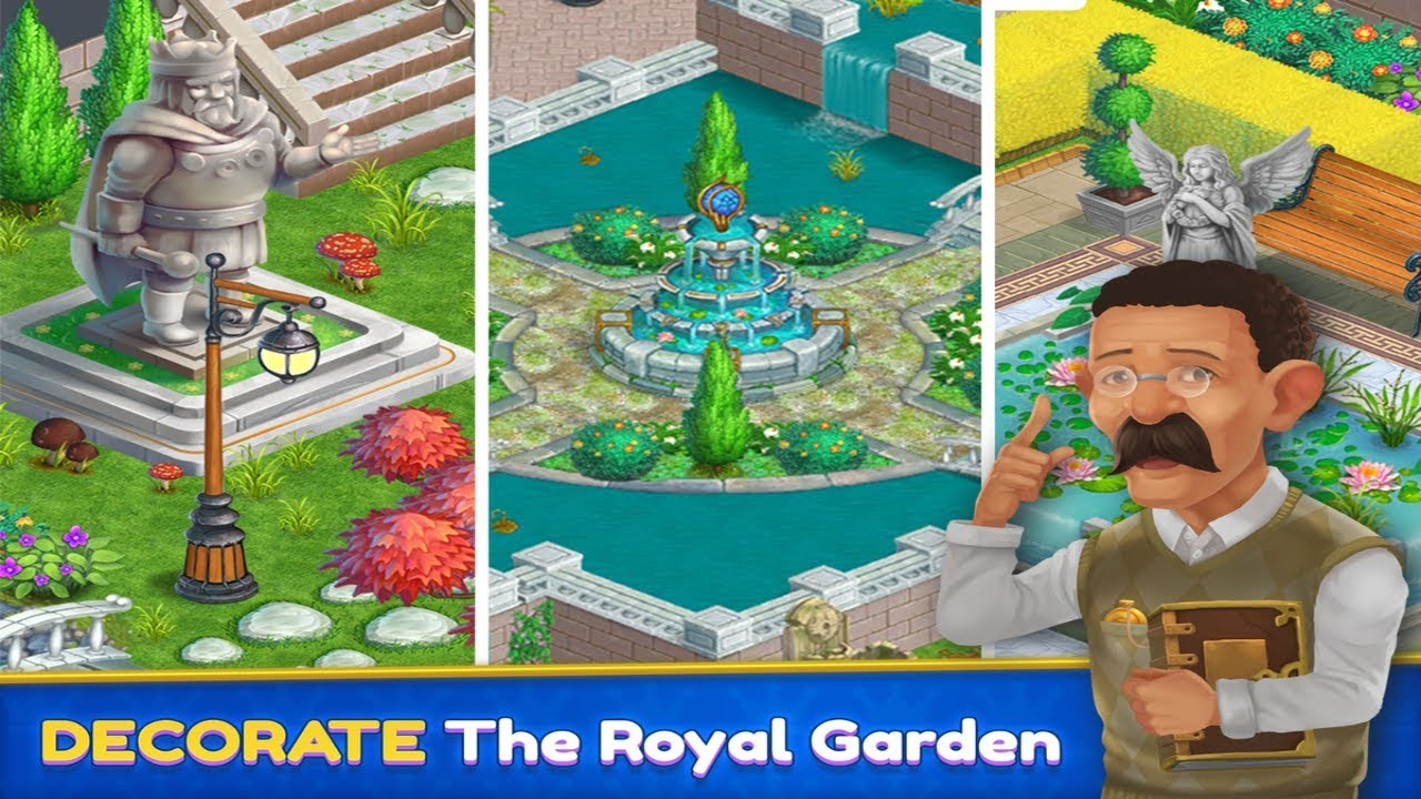 Royal Garden Tales - Match 3 Castle Decoration Android Gameplay ...