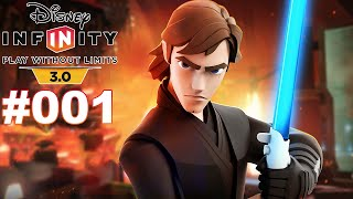 DISNEY INFINITY 3.0 #001 Anakin Skywalker ★ Let's Play Star Wars Twilight of the Republic [Deutsch]