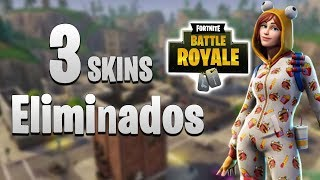 3 SKINS THAT were REMOVED from Fortnite They didn't come out!!! | Fortnite season 6