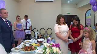 Поздравление малышки на свадьбе Никиты и Алены