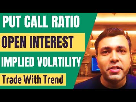 Option Chain Analysis - Put Call Ratio - Implied Volatility - Open Interest Analysis 🔥🔥