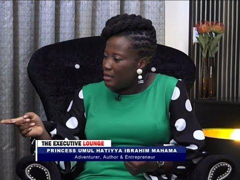 Princess Umul Hatiyya Ibrahim Mahama - The Executive Lounge on JoyNews (12-3-18)