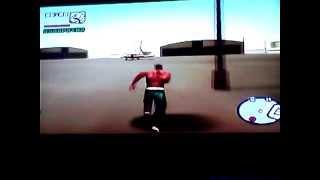 Gta San Andreas PS2- Accident en avion  MORTEL!!!