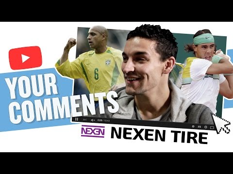 Roberto Carlos, Nadal & Bisbal | JESUS NAVAS | YOUR COMMENTS