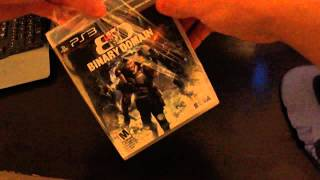 Binary Domain - PS3 Unboxing