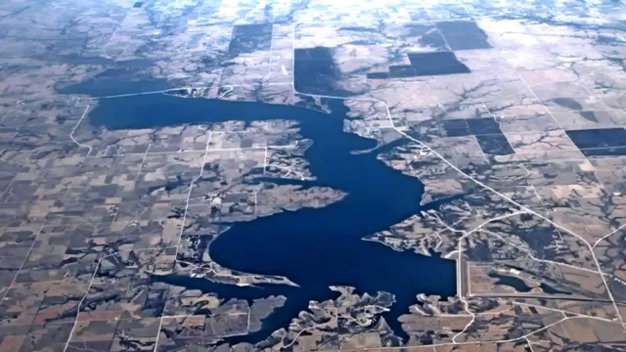 Milford Lake Kansas Map.Milford Lake Ks Youtube