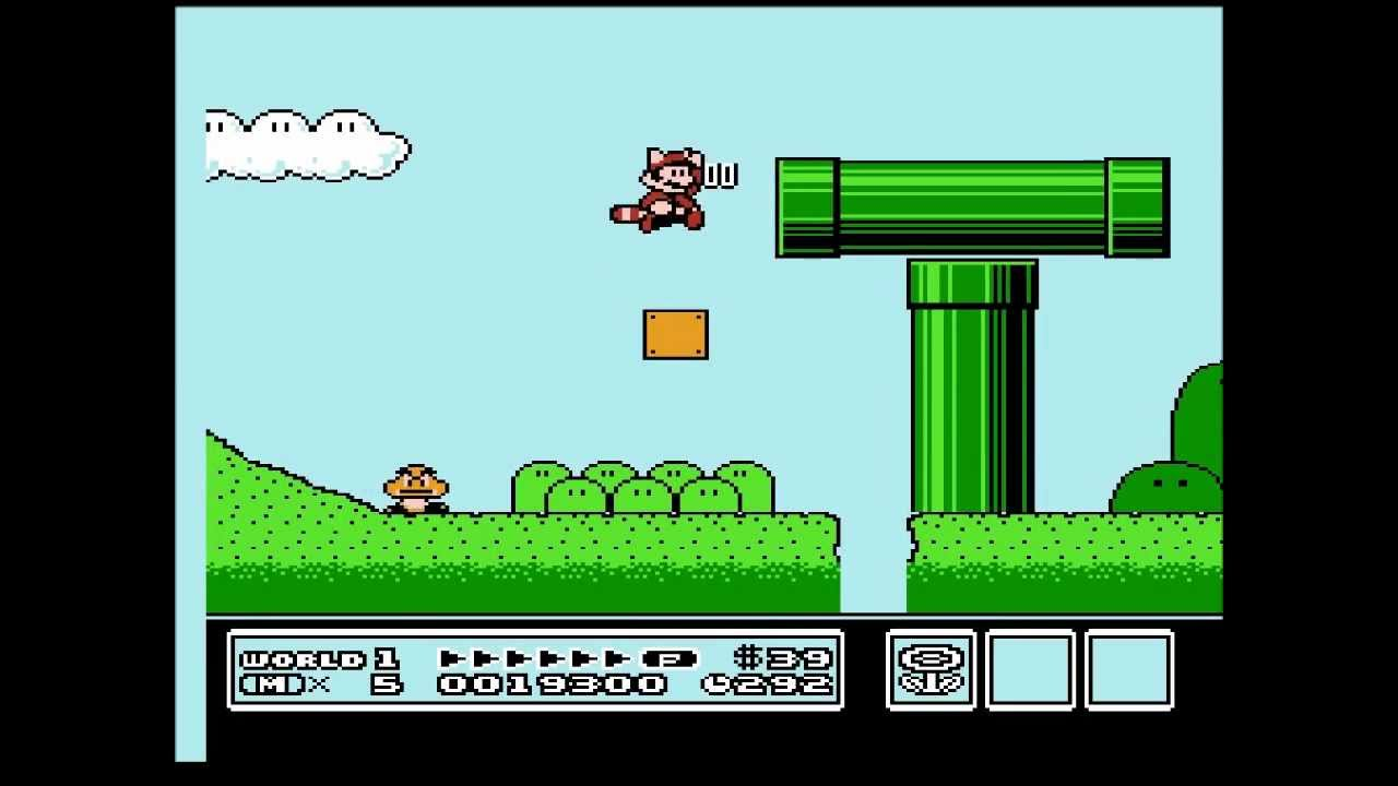 Super Mario Bros 3 - Gameplay. - YouTube