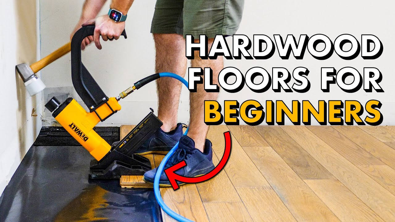 Installing Hardwood Flooring For The