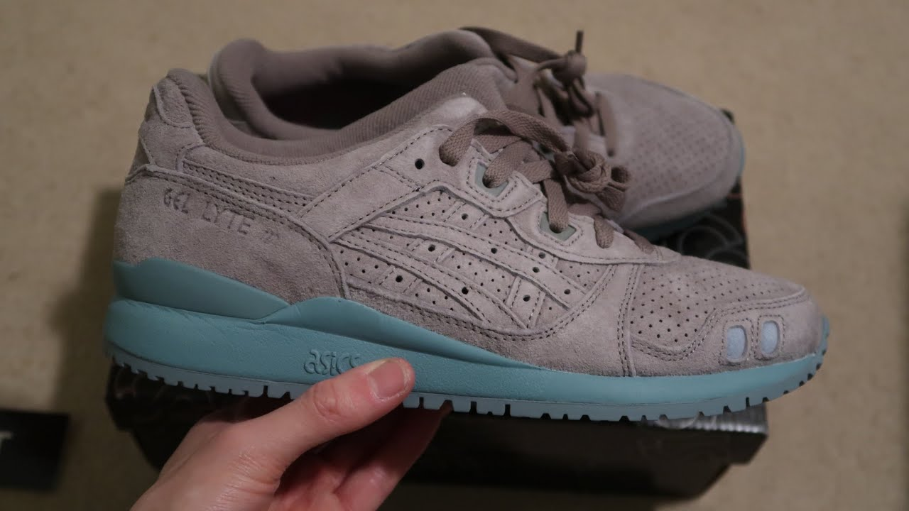 Asics Gel-Lyte III Ronnie Fieg The Palette Astro Sneaker Unboxing