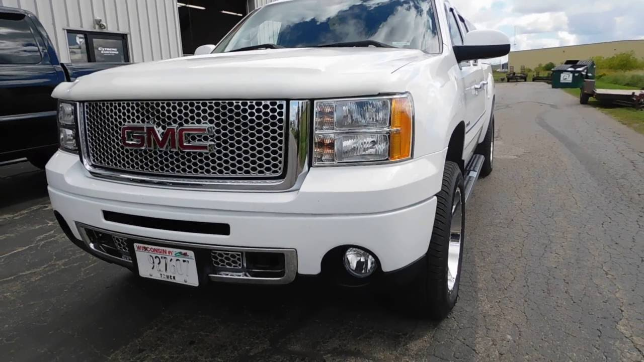 Gmc Sierra Truck >> 20x9 American Racing AR910 Wheels & Michelin 275/55 Tires ...