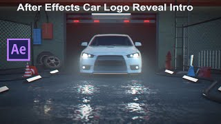 Car Lightning Logo Reveal Intro After Effects 2020