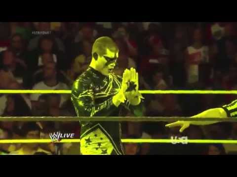 WWE Stardust debut entrance and new theme...