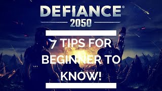 Defiance 2050 Guide: 7 Tips for Beginner to Know!