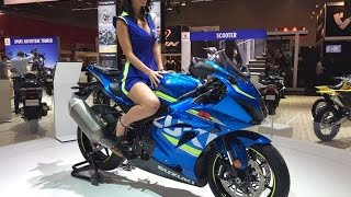 2017 Suzuki GSX-R 1000 First View | Intermot