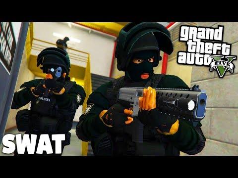 App Vorstellung + GTA 5 SWAT MOD - Anschlag am Flughafen! - Deutsch - Grand Theft Auto V Polizei