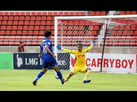 Fullmatch  : ฟุตบอลนัดกระชับมิตร Leicester City International Academy - Bangkok Utd U19 [ครึ่งแรก]