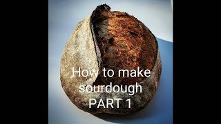 How to Make Sourdough PART 1!