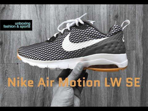 nike-air-max-motion-lw-se-'white-light-brown'-|-unboxing-&-on-feet-|-fashion-shoes-|-2018-|-4k