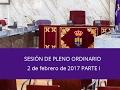 Torres de la Alameda / Pleno Ordinario 2 de febrero de 2017 Parte I
