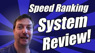 Speed Ranking System Review – Plus Get Exclusive Speed Ranking System Bonus Watch For Details