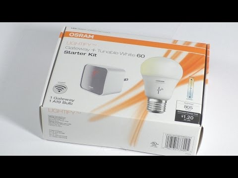 OSRAM Lightify Home Lighting Kit REVIEW