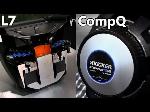 Kicker Q-Class Subwoofers: Kicker L7 vs Kicker CompQ