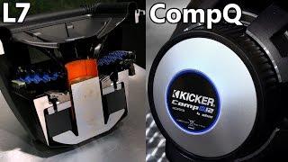 Kicker Q-Class Subwoofers: Kicker L7 vs Kicker CompQ