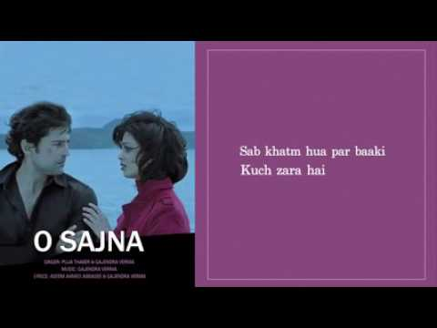 O sajna lyrical full song table no 21 rajeev khandelwal for Table no 21 songs