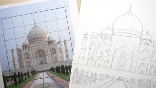 How to use a Grid to Draw and Transfer Images