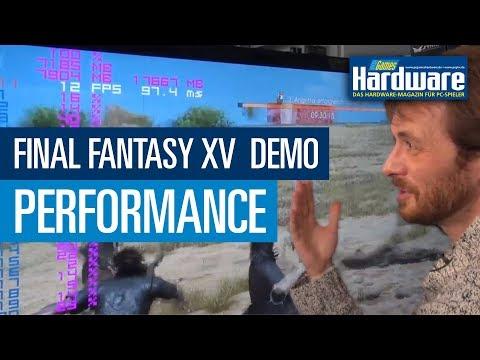 Final Fantasy XV DEMO - Radeon-Performance und Auffälligkeiten | PCGH Raw & Uncut