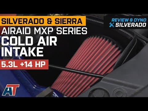 2014-2018 Silverado & Sierra Airaid MXP Series Cold Air Intake 5.3L Review & Dyno