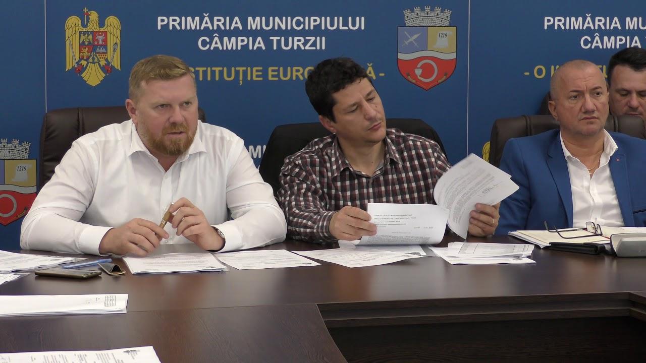 Ședința Consiliului Local Câmpia Turzii (31.10.2018)