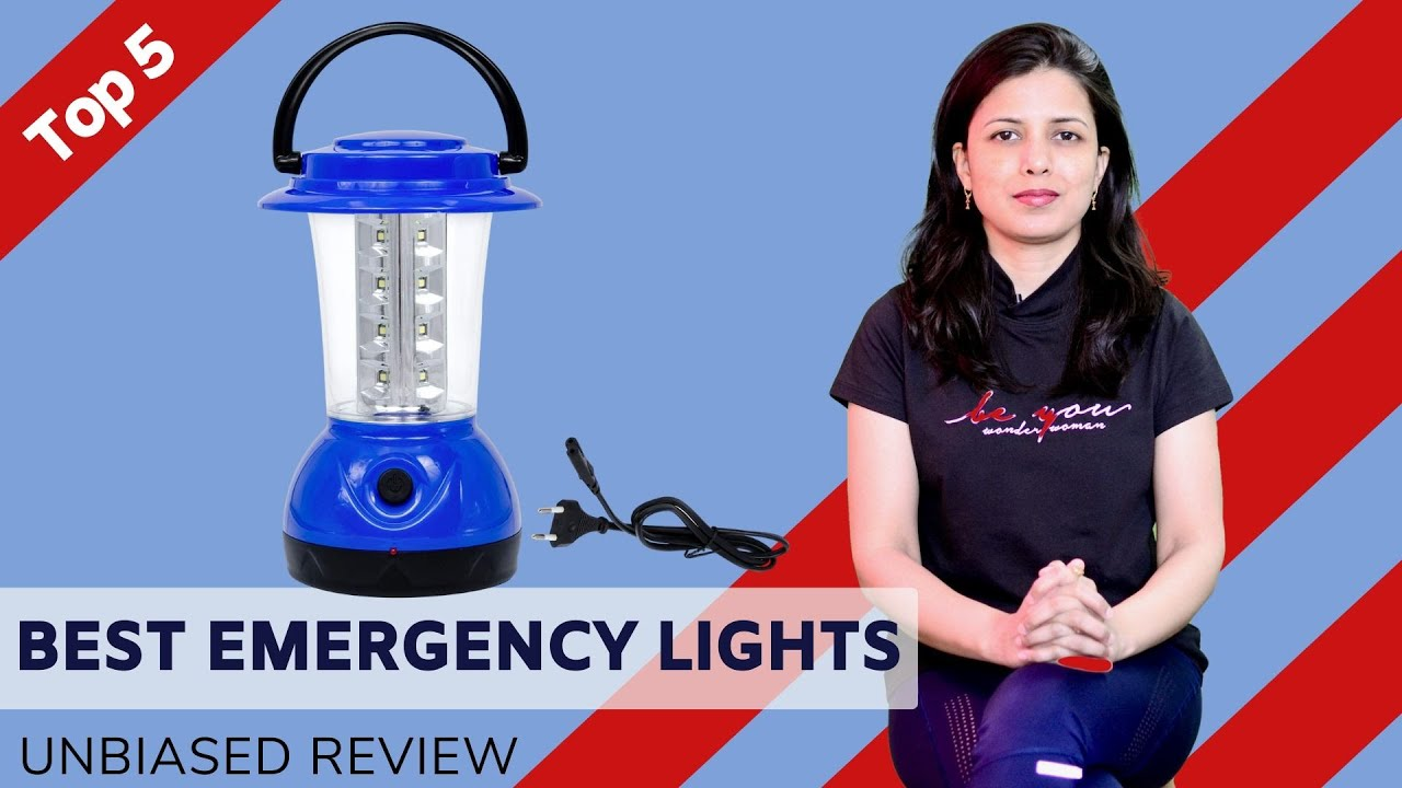 ✅ Top 5: Best Emergency Lights 2020   LED Lights for Home Review & Comparison