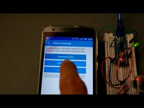Windev Mobile 22 & Arduino - Communication Bluetooth BLE